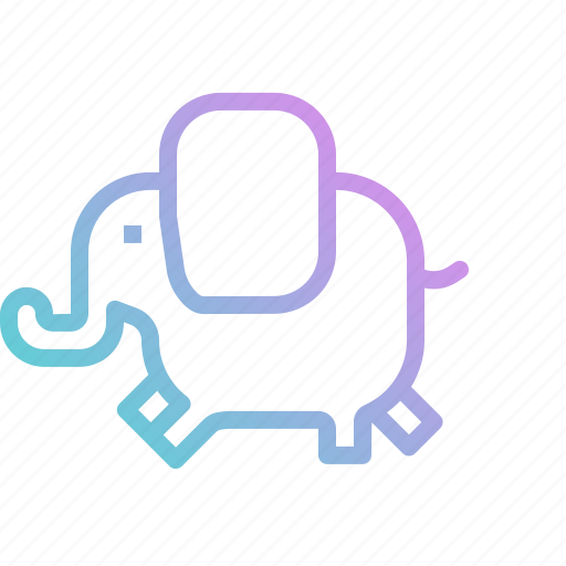 Animals, elephant, mammal, mascot, wild, zoo icon - Download on Iconfinder