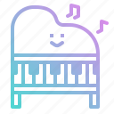 instrument, keyboard, keys, music, musical, orchestra, piano