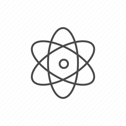 atom, atomic, chemistry, nuclear, particle, physics, science icon
