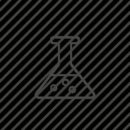 alchemy, beaker, chemisry, flask, lab, laboratory, test icon