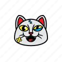 avatar, cat, emoticon, face, smile icon