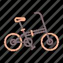 bicycle, bike, foldable