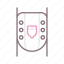 knee, leg, pads, protection icon