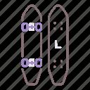 board, longboard, skateboard icon