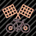bike, race, urban icon