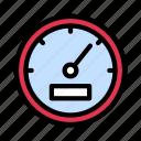 gauge, measure, meter, performance, speed