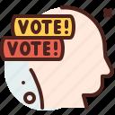advice, america, elections, politics icon