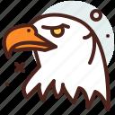 america, eagle, elections, politics icon