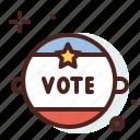 america, elections, pins, politics icon
