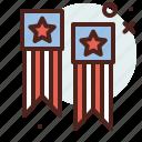 america, elections, politics, tags icon