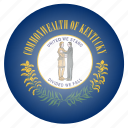 flag, kentucky, state, us icon