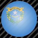 flag, nevada, state, us icon