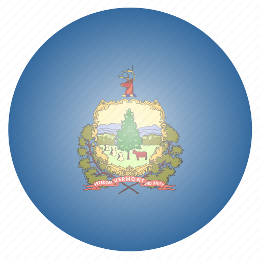 flag, state, us, vermont icon