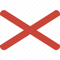 alabama, american, flag, rectangle, rounded, state icon