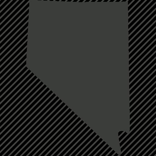 America Location Map Nevada North America State Usa Icon