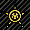 men, police, star, usa icon