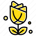 flower, imerican, plent, usa icon