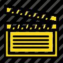 american, movis, usa, video icon