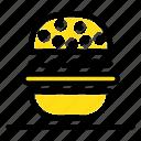 american, burger, eat, usa icon