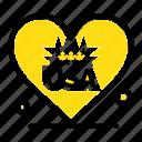 american, heart, love, usa icon