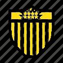 american, seurity, shield, usa icon