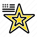 american, flag, star, usa icon