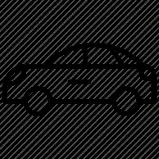 automobile, car, crossover car, sedan, vehicle icon