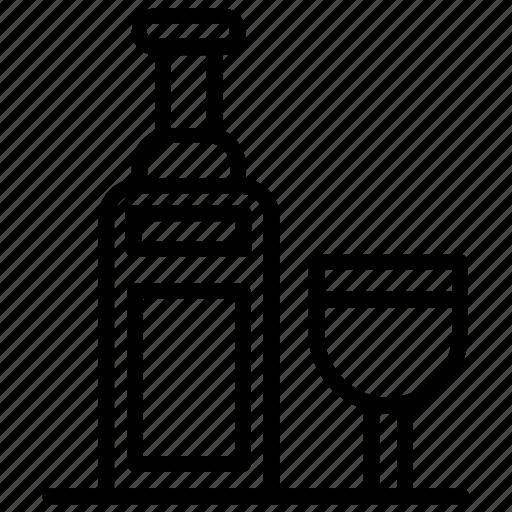 Alcohol, beverage, champagne bottle, drink bottle, wine icon - Download on Iconfinder