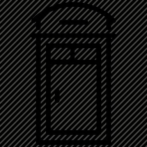 Closed door, door, entrance, exit, gate icon - Download on Iconfinder