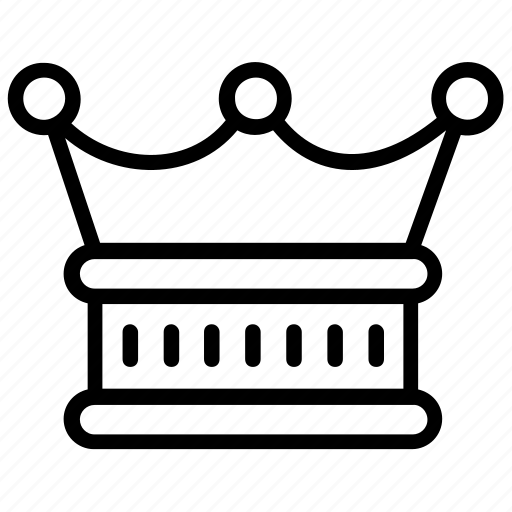 Crown, headgear, nobility, royal crown, royalty icon - Download on Iconfinder