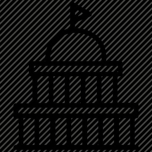 Capitol building, united states, usa monument, washington capitol, washington dc icon - Download on Iconfinder