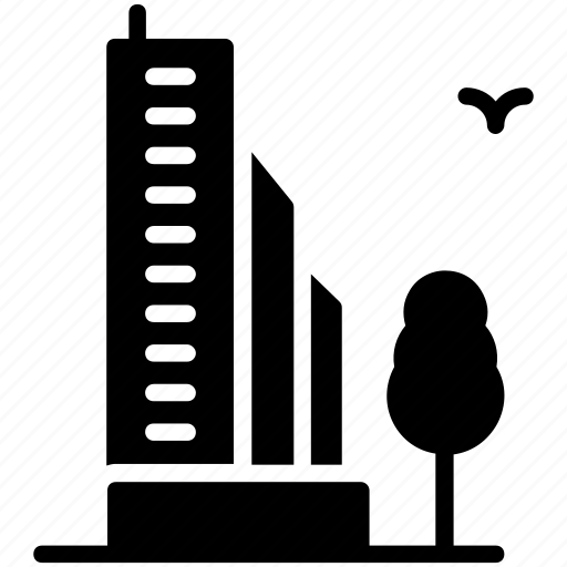 city building, cityscape, modern architecture, skyline, skyscraper icon