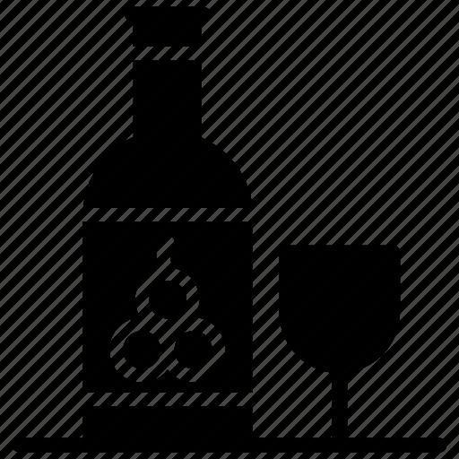 alcohol, beverage, champagne bottle, drink bottle, wine icon