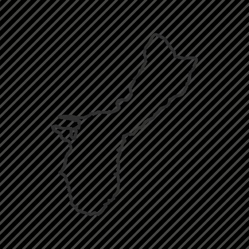 america, american samoa, american territory, borders, map, samoa, usa icon