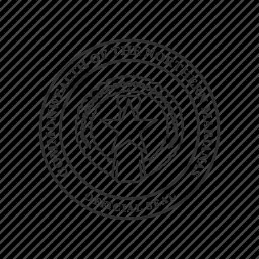 northern marianas, northern marianas symbol, seal, star seal, usa, usa territory icon