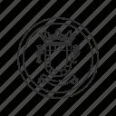 america, latin america, puerto rico, seal, south america, us territory, usa icon