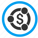 business, connection, cooperation, finance, financial collaboration, partnership, teamwork icon