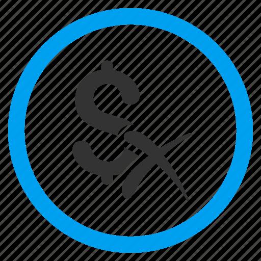 Cancel, delete, dollar, erase, money, reject, remove icon - Download on Iconfinder