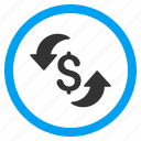 business, money, refresh price, rotate, rotation arrows, update cost, upload icon