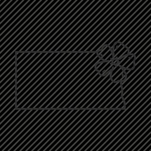 borders, map, north dakota, state, state flower, state symbol, usa icon