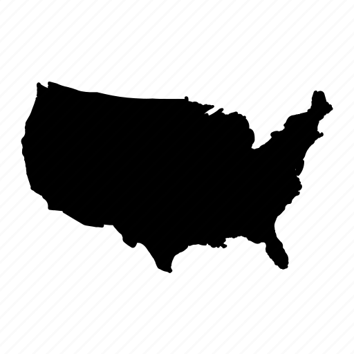 America, map, state, usa icon - Download on Iconfinder