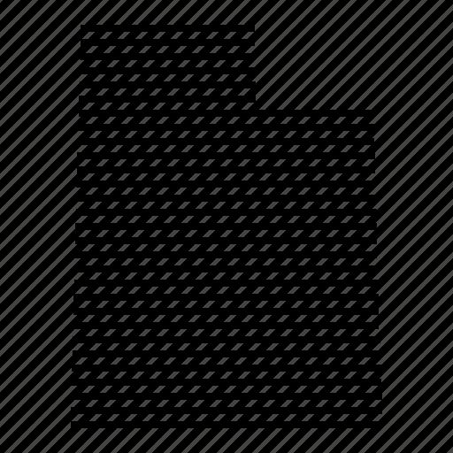 Map, state, usa, utah icon - Download on Iconfinder