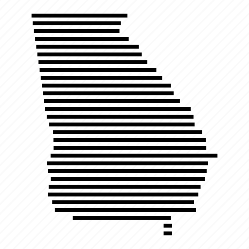 Georgia, map, state, usa icon - Download on Iconfinder