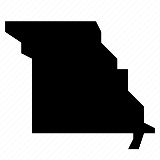Map, missouri, state, states, united states, usa icon - Download on Iconfinder