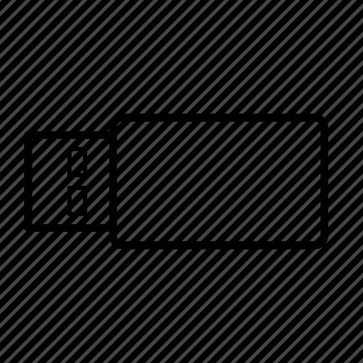 Stick, usb, usb stick, file, memory, plug, storage icon - Download on Iconfinder
