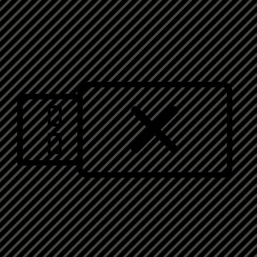 data, eject, file, memory, stick, usb, usb stick icon