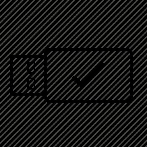 data, drive, open, right, stick, usb, usb stick icon