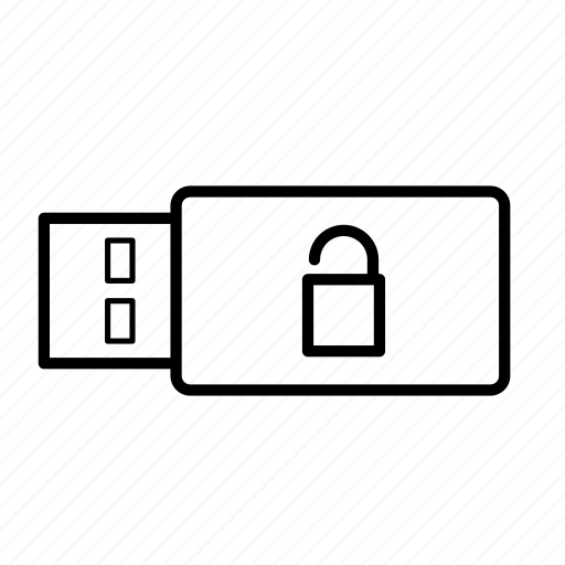 data, documents, file, format, storage, usb, usb stick icon