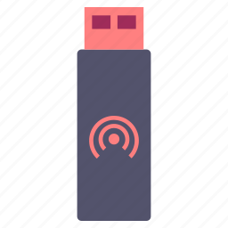 datacard, device, interent, pendrive, stick, usb, wireless icon