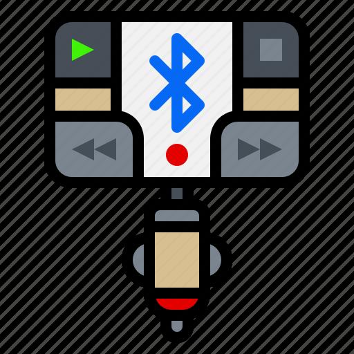 audio, bluetooth, car, electronic, gadget, transmitter icon
